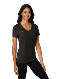 Champion Women's Powertrain Tee, Black/Medium Gray, X-Small