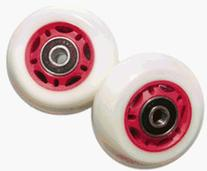Razor PowerWing FlashRider 360 Replacement Rear Wheels, Red