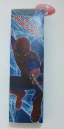 Spiderman PP Sliding Pencil Case with Dangle Charm