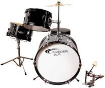 Percussion Pluss PPJR3BK 3-Piece Drum Set