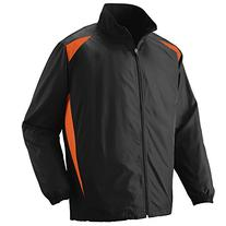 Augusta Sportswear MEN'S PREMIER JACKET XL Black/Orange