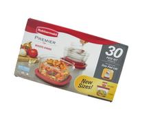 Rubbermaid Premier 30pc Resists Stains Includes Easy Find