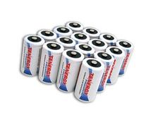 16 pcs of Tenergy Premium D Size 10,000mAh High Capacity High Rate NiMH Rechargeable Batteries