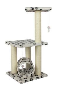 "New Premium Paw 34"" Cat Tree Condo Furniture Scratch Post"