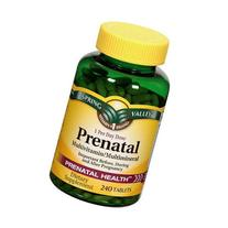 Spring Valley Prenatal Multivitamin, 240 tablets