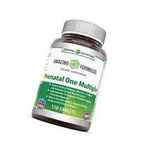 AMAZING NUTRITION PRENATAL ONE MULTIPLE- 150 Tablets  Just 1