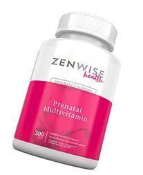 Prenatal Vitamins - Multivitamin With Folic Acid, Probiotics