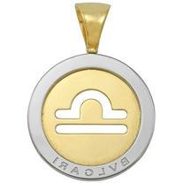 Preowned Bulgari Libra Large Pendant/ Charm