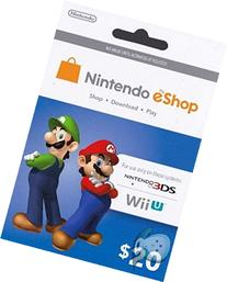 Nintendo Prepaid eShop $20 for 3DS or Wii U