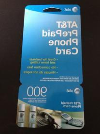 AT&T 900 Minute Prepaid Phone Card