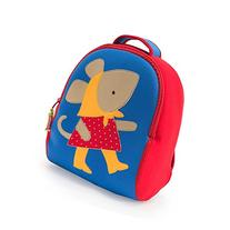 Dabbawalla Bags Preschool Toddler Backpack, Miss Mouse
