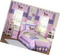 Sweet Jojo Designs 4-Piece Pretty Pony Horse Children's