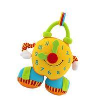Happy Cherry Infant Baby Primary Cloth Teaching Clock
