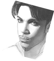 Prince, Prince Rogers Nelson, 8x10 Art Print by Wendy Hogue