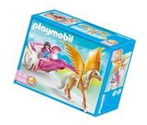 Princess with Pegasus Carriage