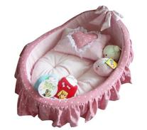 Princess Cradle Pet Bed + Removable Pet Mat + Cute Pillow