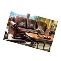 Princeton Leather Sofa by Coaster Furniture
