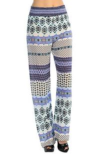 CARAPACE Womens Women's Print Wide leg printed pants with