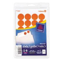 Avery Print/Write Self-Adhesive Removable Labels, 0.75 Inch