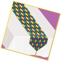 Printed Mardi Gras Table Runner Party Accessory