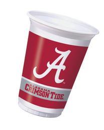 Creative Converting 374697 20 oz Printed Plastic Cups Univ
