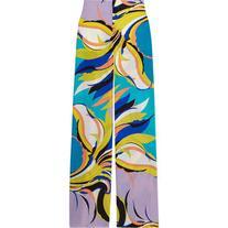 Emilio Pucci Printed silk crepe de chine wide-leg pants