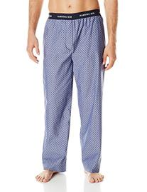 Ben Sherman Men's Printed Woven Sleep Pant, Blue Depths,