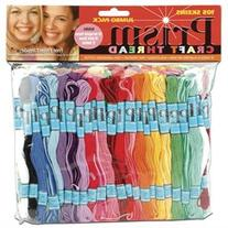 Prism Craft Thread Jumbo Pack 10 Yards 105/Pkg-Assorted