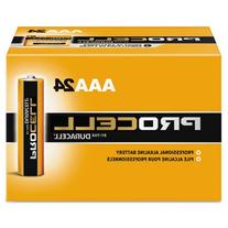Procell Alkaline Batteries, AAA, 24/Box, Sold as 1 Box, 24