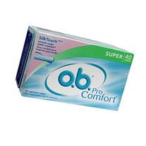 o.b. Pro Comfort  Applicator Free Digital  Tampons, Super