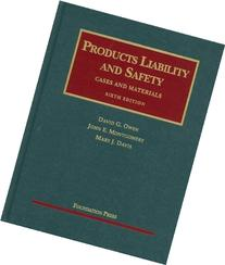 Products Liability and Safety, 6th