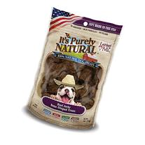 Loving Pets Products It's Purely Natural Beef Jerky Bone-