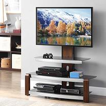 Whalen Furniture Flat Panel TV Stand and Entertainment