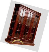 D-ART COLLECTION Profile 3 Door Glass Cabinet