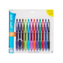 Paper Mate Profile Retractable Ballpoint Pens, 12-Pack,