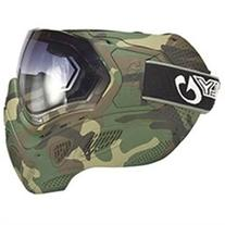 Sly Profit Thermal Paintball Mask - Full Woodland Camo