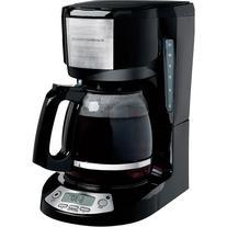 Hamilton Beach 12-Cup Programmable Coffeemaker, Black