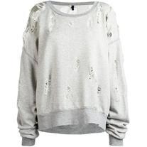 Unravel Project - destroyed effect sweatshirt - women -
