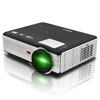 EUG 1080P HD LED Projector, HDMI Home Theater Multimedia,