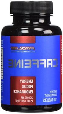 Prolab Caffeine- Maximum Potency 200 mg 100 Tablets
