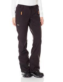 Oakley Women's Promise Land Soft Shell Pant, Jet Black,