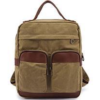 Kaukko Protable Leisure Small Canvas Backpack Student Bag