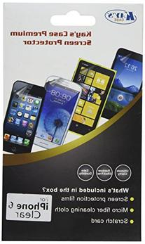 KAYSCASE Screen Protector for Apple iPhone 6 4.7 inch 2014