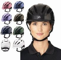 Ovation Women's Protege Riding Helmet Grey L/X US