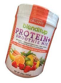 Blenditup Protein + Smoothie Mix Organic  100% Vegan, Gluten