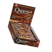 Quest Nutrition Natural Protein Bar, Chocolate Brownie, 12