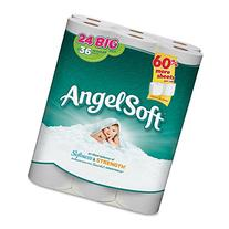 Angel Soft PS 24 Roll Bathroom Tissue