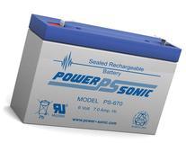 Powersonic PS-670F1 - 6 Volt/7 Amp Hour Sealed Lead Acid