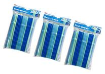Evriholder PS-C-100PK Flexi Straws, Blue and Green, 100-Pack