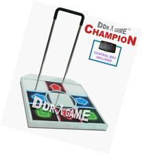 PS2 Champion Metal Arcade Dance Pad with Handle Bar